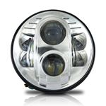 "GENSSI 7"" ROUND PROJECTOR DOT LED HEAD LIGHT LOW/H"