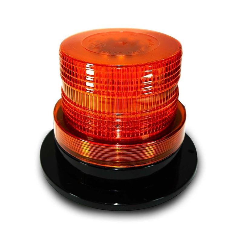 Amber LED Emergency Flash Strobe and Rotating Beac