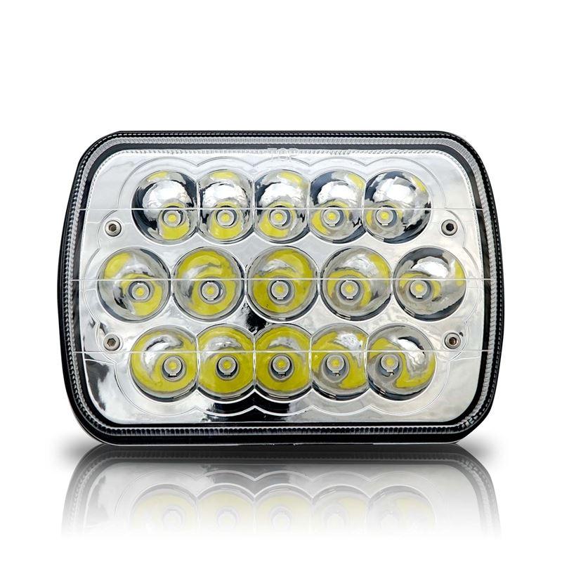 GENSSI 7X6 H6054 200MM LED HEAD LIGHT SEALED BEAM